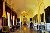 Europe, Great Britain, England, North Yorkshire, York, Castle Howard, long Gallery south