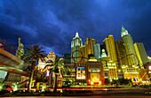 USA, Nevada, Las Vegas, Las Vegas Boulevard, ''The Strip''. Hotel ''New York New York''