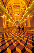 USA, Nevada, Las Vegas, Las Vegas Boulevard,  ''The Strip'', Hotel The Venetian, a replica of Venice was built in this hotel, Lobby