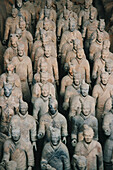 Tomb of First Emperor Qinshihuangs Terracotta warriors. Xian. Shaanxi, China