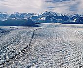 Chugach mountain range. Alaska. USA