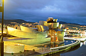 Guggenheim Museum. Bilbao. Vizcaya. Spain