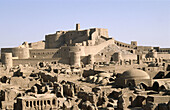 Arg-e Bam Citadel (before being almost completely destroyed by an earthquake on December 26th, 2003). Bam. Kerman province. Iran