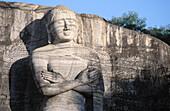 Buddha. Gal Vihara. Polonnaruwa. Sri Lanka