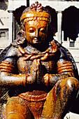 Garuda statue. Patan. Kathmandu Valley. Nepal.