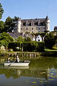 Montrésor castle. Val-de-Loire, France