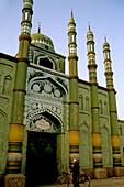 Mosque, Turfan. Sinkiang (Xinjiang), China