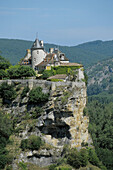 France, Quercy, Dordogne Valley, Belcastel Castle