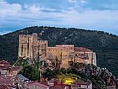 Yeste Castle. Segura mountain range. Albacete province. Spain