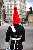 Royal Guard, Whitehall, London, England, Britain, United Kingdom