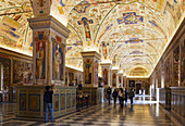 Sistine Hall of the Vatican Library, Vatican Museums, Vatican City, Rome, Italy