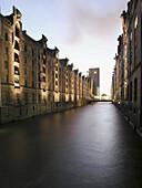 Speicherstadt (storehouse-town), Hamburg, Germany