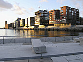 Office and residential buildings in the HafenCity, Hamburg, Germany