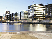 Office buildings and residential buildings, HafenCity, Hamburg, Germany
