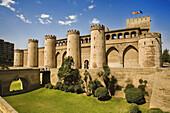 Palacio de la Aljafería. Zaragoza. Spain