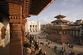 Katmandu City, Durbar Square. Nepal.