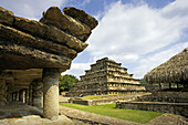 Veracruz State. El Tajin Ruins. The Nichos Piramid. Mexico.