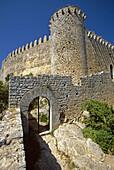 The Castell (castle) de Santueri. Mallorca. Balearic Islands. Spain.