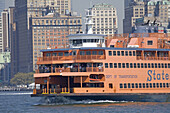 Cruise around Manhattan island. Manhattan, NYC, USA