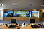 Satellite images, weather forecasting, Euskalmet (Basque Service of Meteorology). Euskadi, Spain