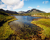 Connemara scenery. Co. Galway, Ireland