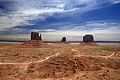 Butte rock formations, Monument Valley. Arizona, USA