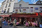 Place du Tertre. Montmartre. Paris. France.