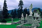 Europe, Great Britain, Ireland, Co. Wicklow, Enniskerry, Powerscourt Garden, Wicklow Mountains