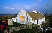 Cottage in Knock, Lettermullen peninsula, Connemara, Co. Galway, Ireland, Europe
