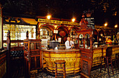 Interior view of the traditional pub The Crown Liquor Saloon, Belfast, County Antrim, Ireland, Europe