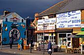 The Falls Road, Catholic community, Belfast, County Antrim, Northern Ireland, United Kingdom, Europe