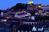 View of Armagh in the evening light, County Armagh, Northern Ireland, United Kingdom, Europe