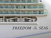 Cruise Ship Freedom of the Seas, Hanseatic City of Hamburg, Germany