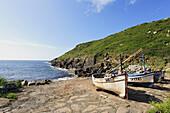 Scenery at Penberth Cove, St Levan, Cornwall, England, United Kingdom