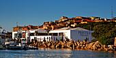 Italy Sardinia Costa Smeralda Porto Cervo, Prestige Village Fitness Center and luxery shopping mall