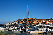 Italy Sardinia Costa Smeralda Porto Cervo Yachting Port