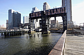 Long Island City, NY waterfront, USA