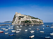 Aragonese Castle, Ischia. Campania, Italy