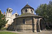 Church of the Holy Sepulchre, Round Church Cambridge, Cambridgeshire, England  Built 1130, since restored