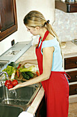 olor, Colour, Contemporary, Female, Food, Generation X, Green vegetable, Green vegetables, Healthy, H