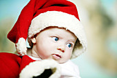 0 to 6 months, 0-6 months, 1 to 6 months, 1-6 months, Amusing, Babies, Baby, Blue eyed, Blue eyes, Blue-eyed, Caucasian, Caucasians, Child, Childhood, Children, Close up, Close-up, Closeup, Clothes, Color, Colour, Contemporary, Facial expression, Facial e