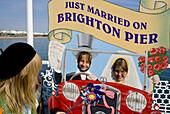 Europe, UK, Sussex, Brighton palace pier fun