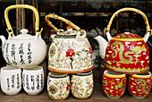 China. Beijing. Tea pot shop.