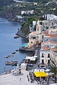 Lipari Island. Eolie Island. Sicily. Italy.