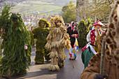 La Vijanera', carnival. Silió. Cantabria. Spain