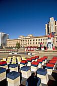 Hajek Sculpture Garden and Adelaide Casino, Adelaide, South Australia, Australia