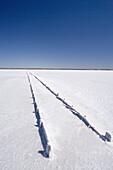 Old Salt Works, Lake Hart, Stuart Highway near Woomera, Outback, South Australia, Australia