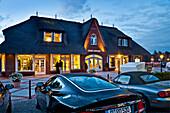 Cars, Luxury Shop, Kampen, Sylt Island, North Frisian Islands, Schleswig-Holstein, Germany