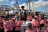 Pirate Cruise for Children, Sylt Island, North Frisian Islands, Schleswig-Holstein, Germany