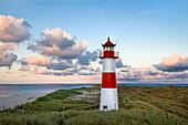 Lighthouse List-East, Ellenbogen, Sylt Island, North Frisian Islands, Schleswig-Holstein, Germany